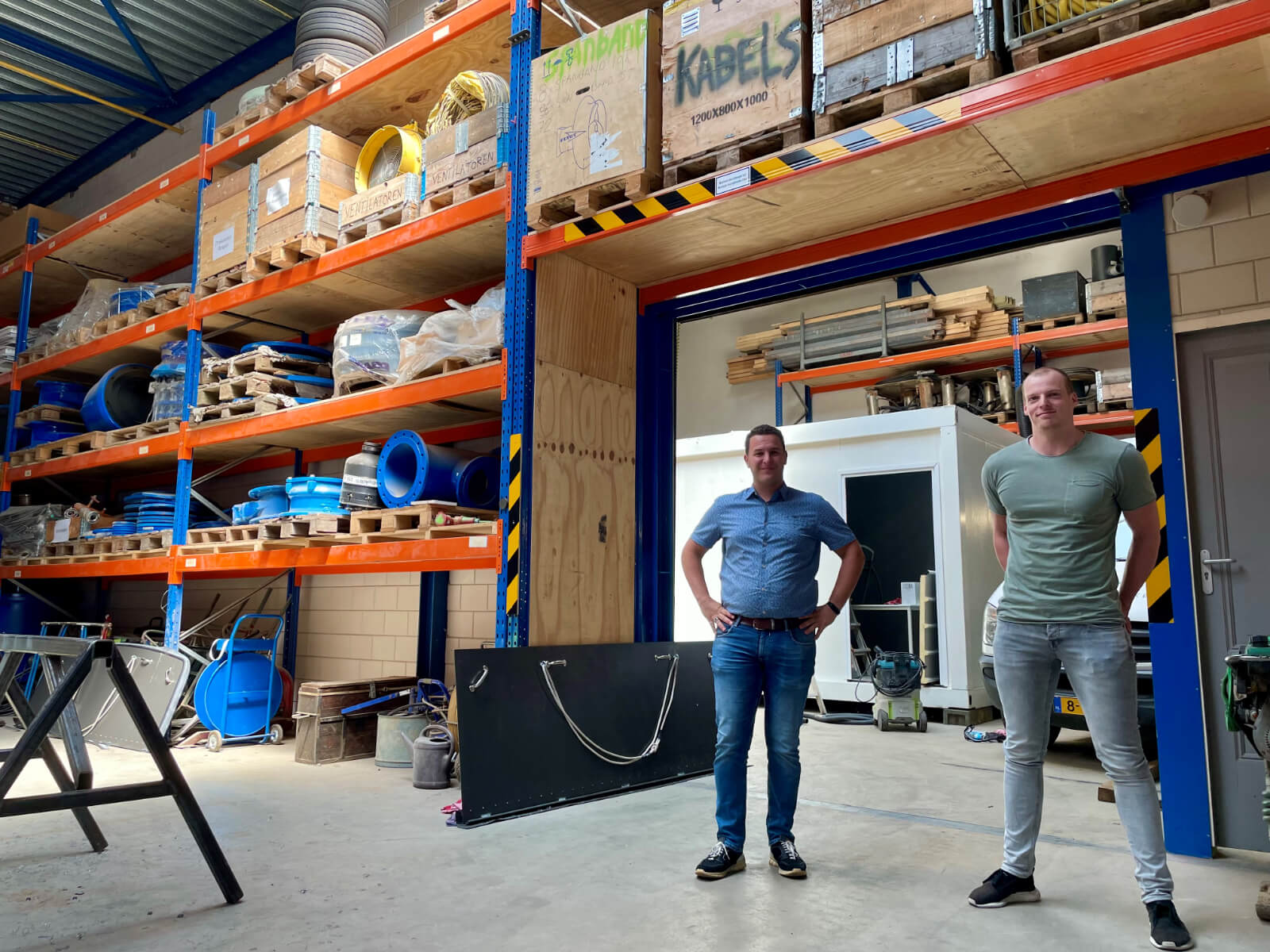 Trainees Mathijs en Victor