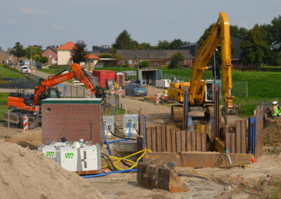 Verplaatsing rioolgemaal in Neer (Limburg)